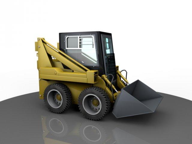 Tractor MKSM800 3D Model