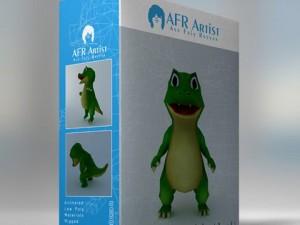 Cartoon Crocodile Agil