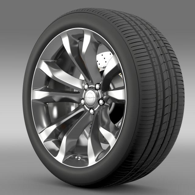Chrysler 300C Platinum 2015 wheel 3D Model