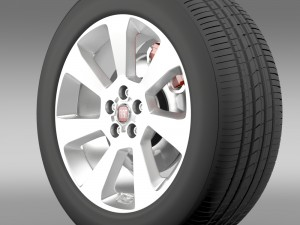 Fiat Doblo Cargo wheel 2015