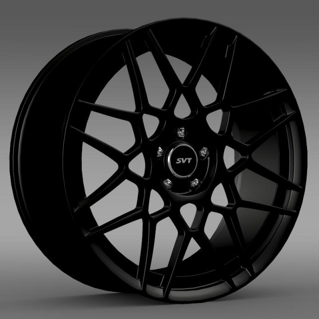 Ford Mustang Shelby GT500 2013 rim 3D Model