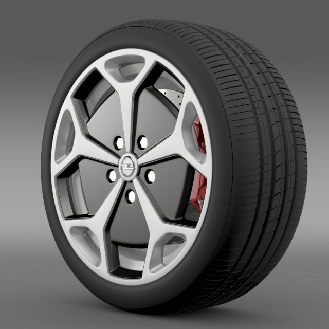 Opel Ampera wheel 3D Model