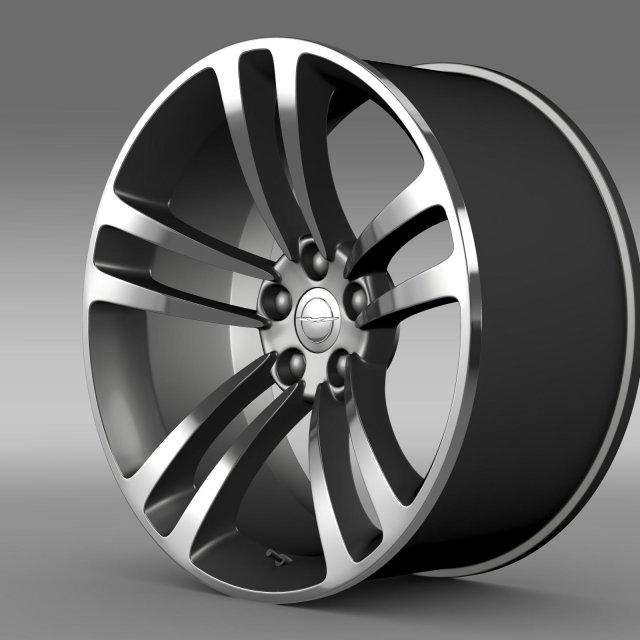 Chrysler 300 SRT8 Core  rim 3D Model