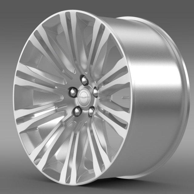Chrysler 300C 2012 rim 3D Model