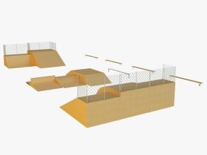 Skate square