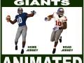 Giants Black American Football Player CG