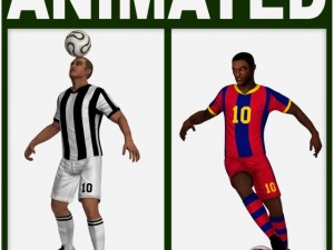 Soccer Players Package CG