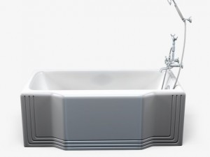 Bathtub 3D Modell