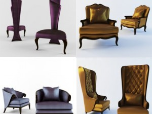 Christopher Guy 4 chairs