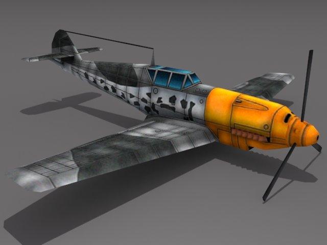 Messerschmitt BF 109 3D Model
