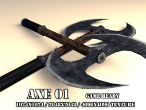 Two Handed Axe 01