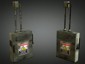 Electric Fuse Box 01