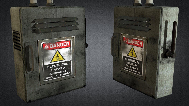 Electric Fuse Box 01 3d Model In Environment 3dexport Deutsch