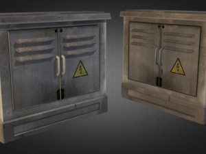 Electric Fuse Box 02