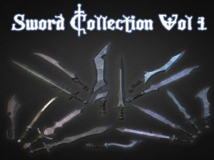 Sword Collection Vol 1  Low Poly