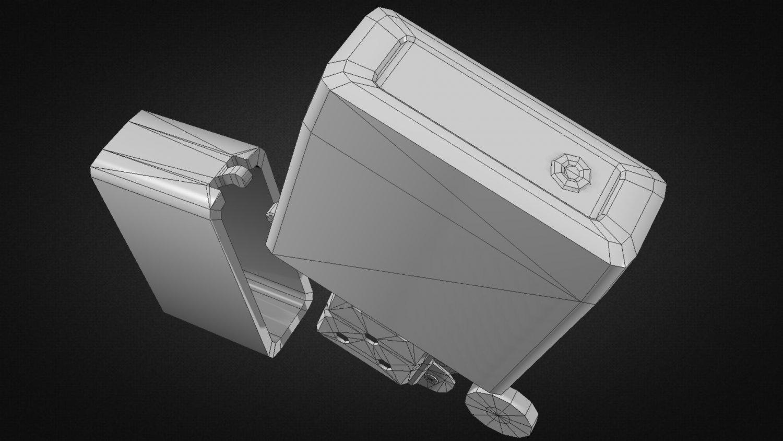 Zippo Lighter 3d Model In Other 3dexport