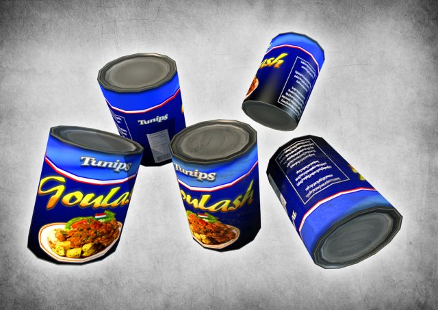 Canned Goulash 3D Model