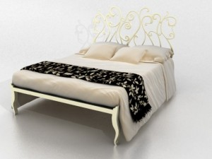 CANTORI Klimtletto bed