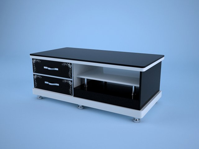 Table for tv 3D Model