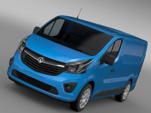 Vauxhall Vivaro Van 2015