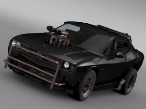 Mad Max Fight Interceptor Dodge Challenger 2015