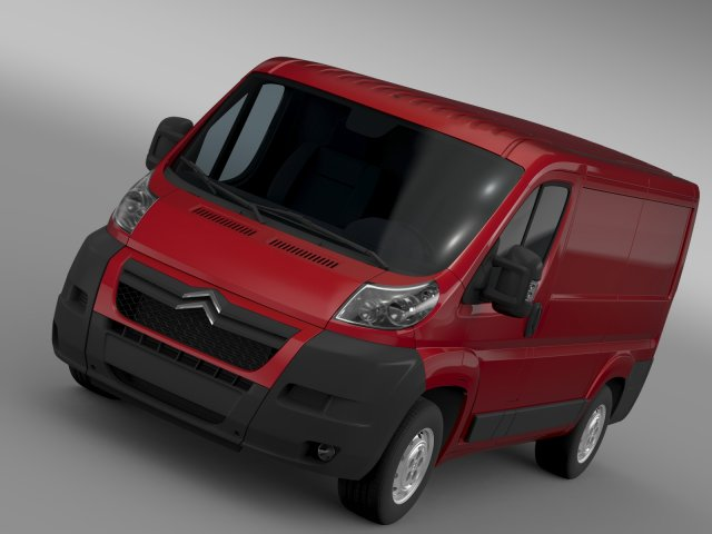 Citroen Jumper 250 L1H1 2006 -2014 3D Model