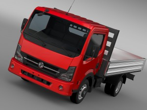 DongFeng N300 Captain Tipper 2015