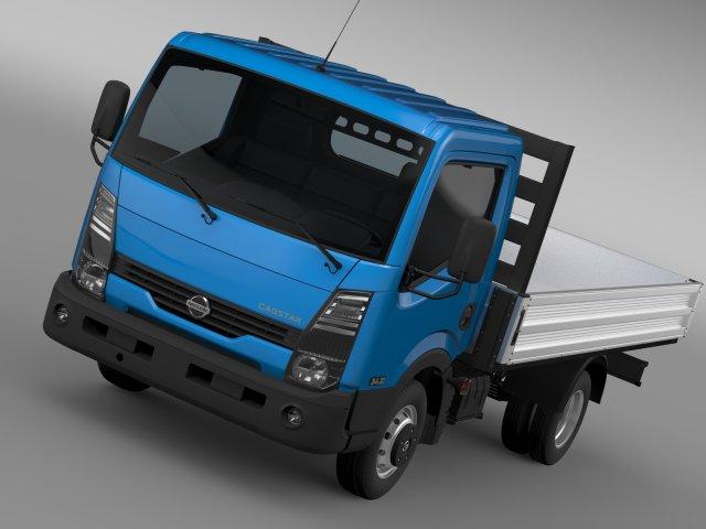 Nissan Cabstar Tipper 2015 3D Model