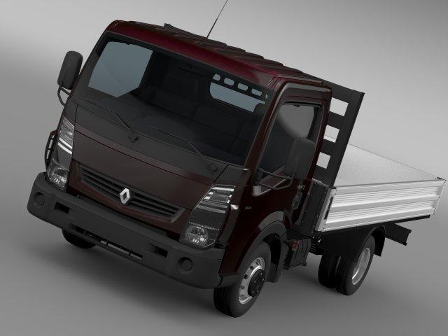 Renault Maxity Tipper 2015 3D Model