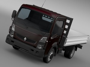 Renault Maxity Tipper 2015
