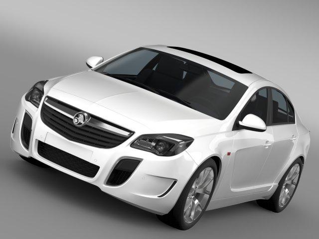 Holden Insignia VXR 2016 3D Model