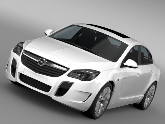 Opel Insignia OPC 2015 3D Model