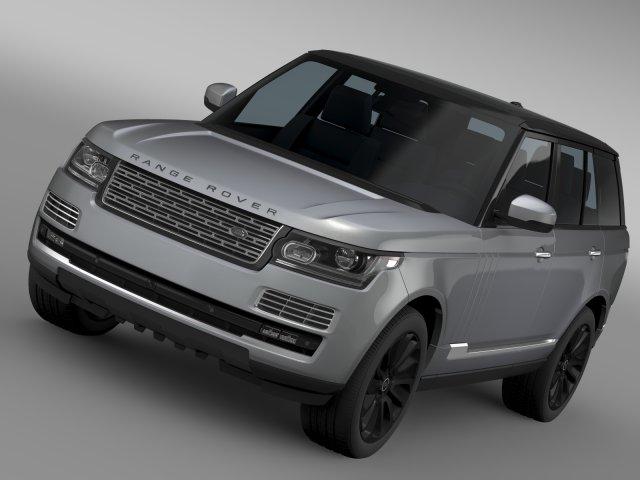 Range Rover SVAutobiography L405 2016 3D Model