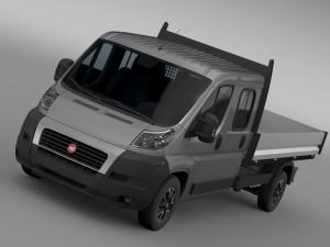 Fiat Ducato Crew Cab Truck 2009-2014