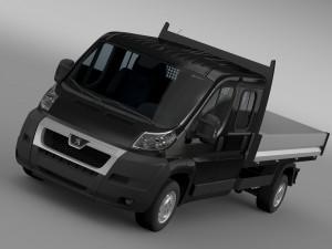 Peugeot Boxer Crew Cab Truck 2009-2014