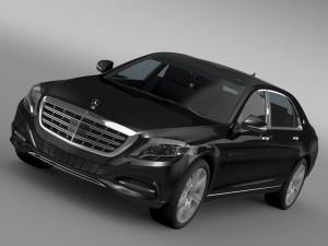 Mercedes Maybach Guard S600 X222 2016