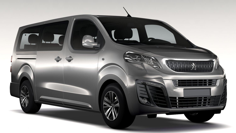 Peugeot Traveller L3 2017 3D Model in Van and Minivan 3DExport