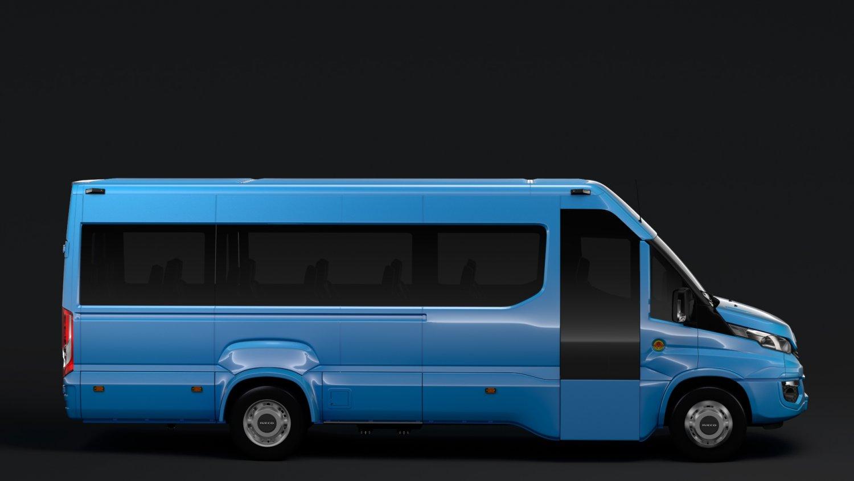 Zaawansowane Iveco Daily Tourus L4H2 2017 3D Model in Bus 3DExport CL91