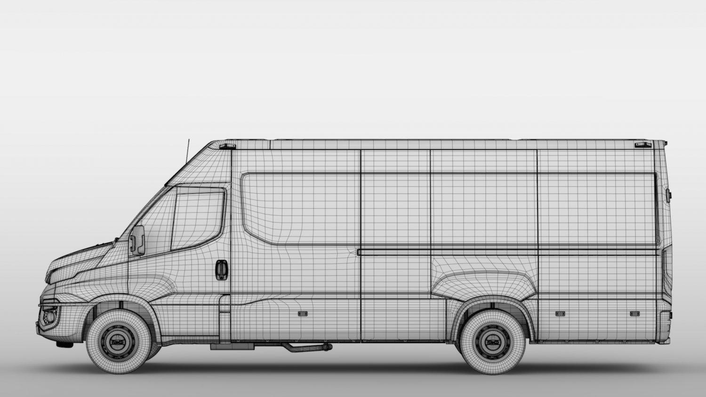 Nowoczesna architektura Iveco Daily Van L4H2 2014 2016 Model 3D in Van and Minivan 3DExport PJ98