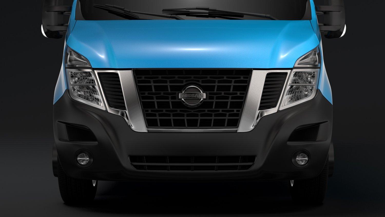 Nissan Nv 400l3h2 Van 2017 3d Model In Van And Minivan 3dexport