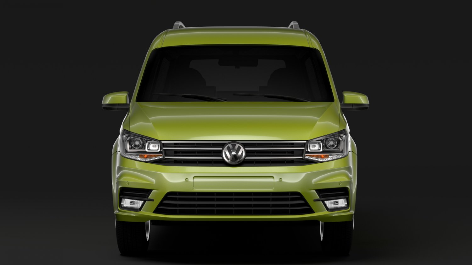 Volkswagen Caddy Maxi 2018 3d Model In Van And Minivan 3dexport