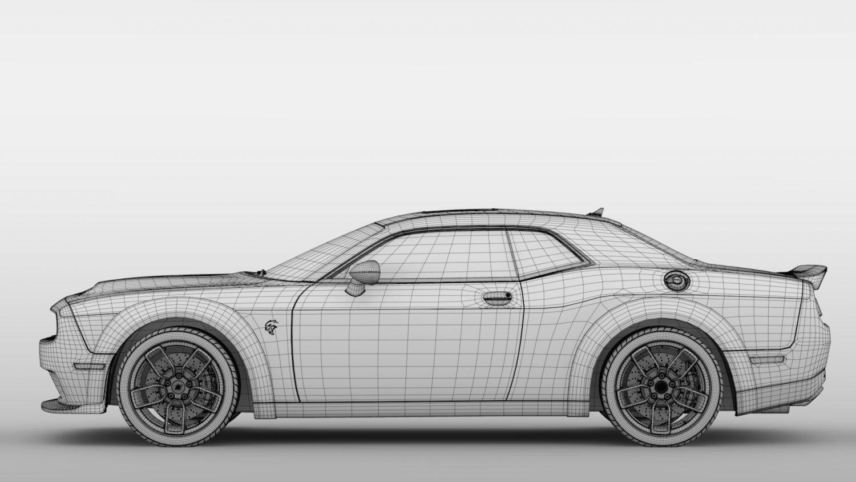 Dodge Challenger Srt Hellcat Redeye Widebody Lc 2019 3d Model In Sport Cars 3dexport