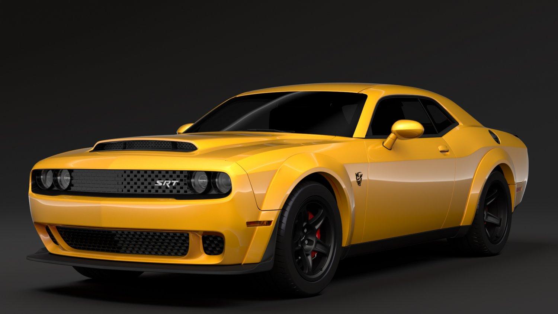 Hennessey Dodge Challenger Srt Demon 2019 3d Model In Sport Cars
