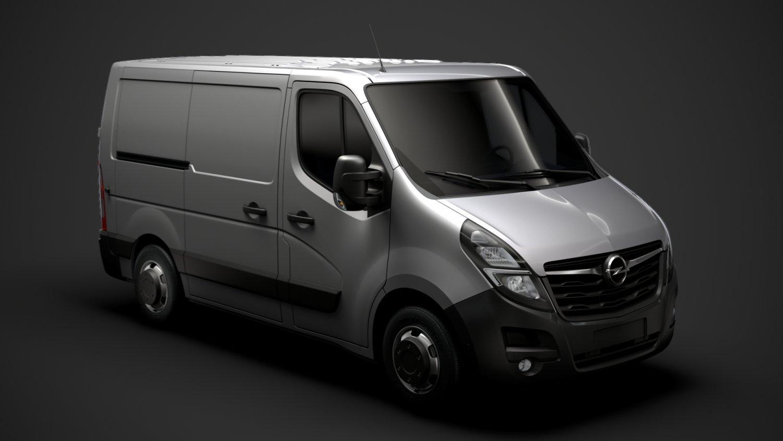 Opel Movano L1h1 Van 2020 3d Model In Van And Minivan 3dexport