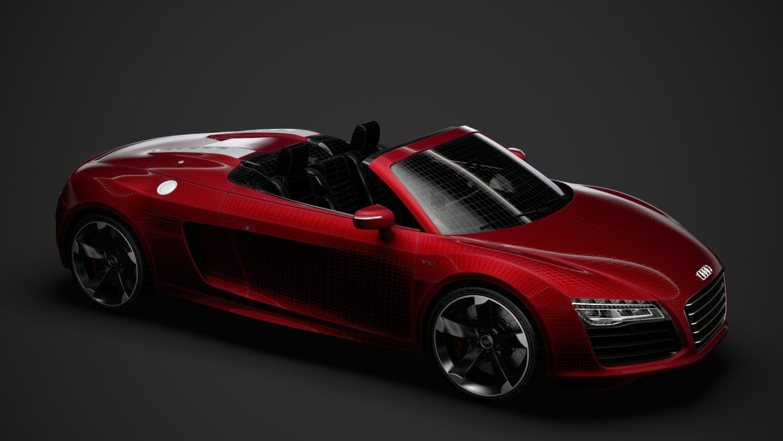 Audi R8 V10 Spyder 2016 Model 3d In Mobil Sport 3dexport