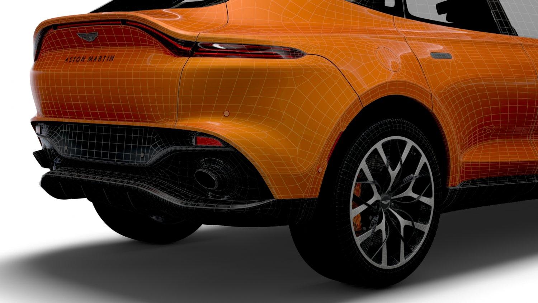 Aston Martin Dbx North America 2021 3d Modell In Königliche Autos 3dexport