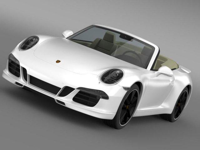 Porsche 911 Exclusive Cabrio 3D Model