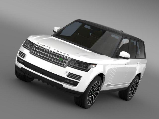 Range Rover Autobiography V8 L405 3D Model