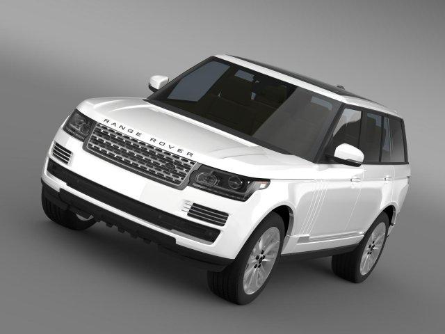 Range Rover Vogue SE TDV6 L405 3D Model