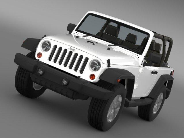 Jeep Wrangler Islander Edition 2010 3D Model